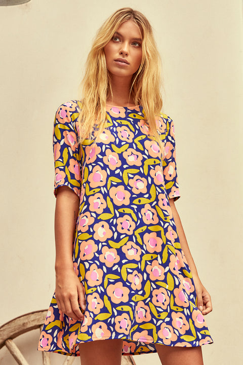 Tina Dress In Bloom