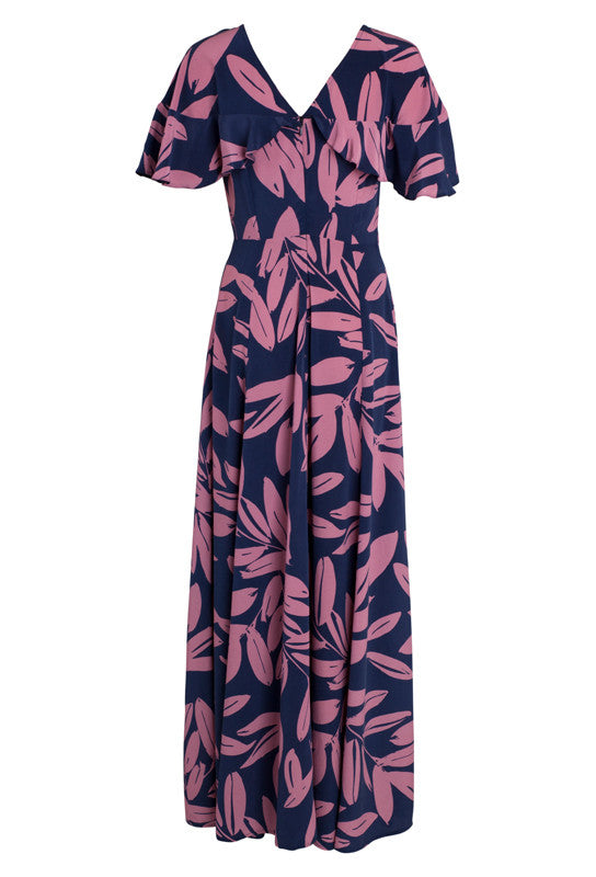 CLOVER SILK CELINE DRESS - NO EXCHANGE