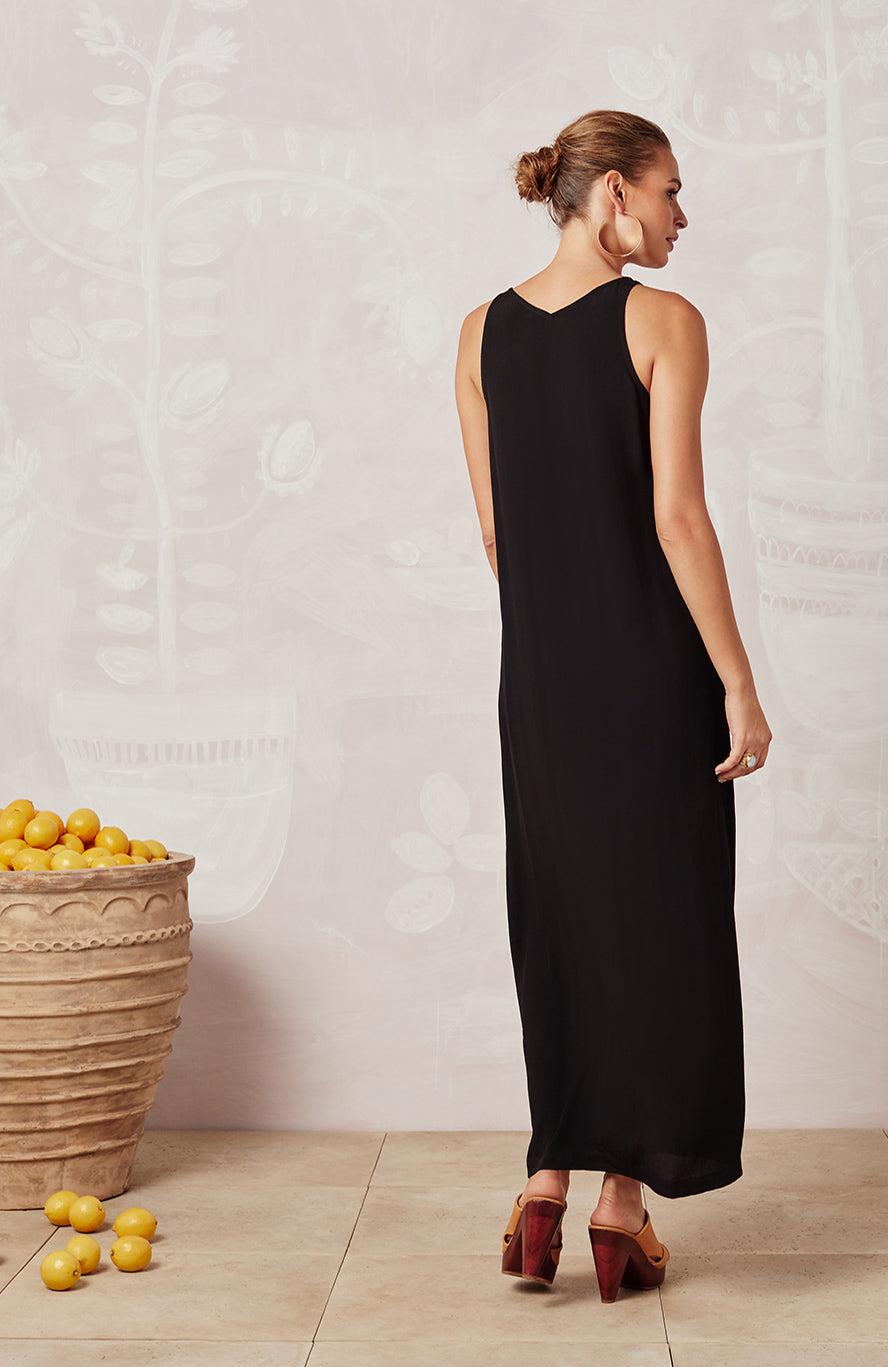 BLACK GOLDIE DRESS - DRESSES - Mister Zimi