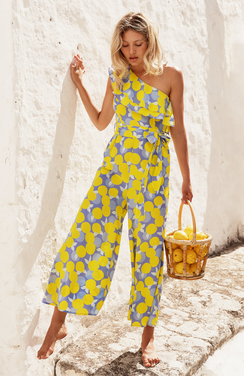 Gloria Jumpsuit In Citrine