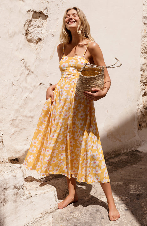 Francesca Dress In Daisy
