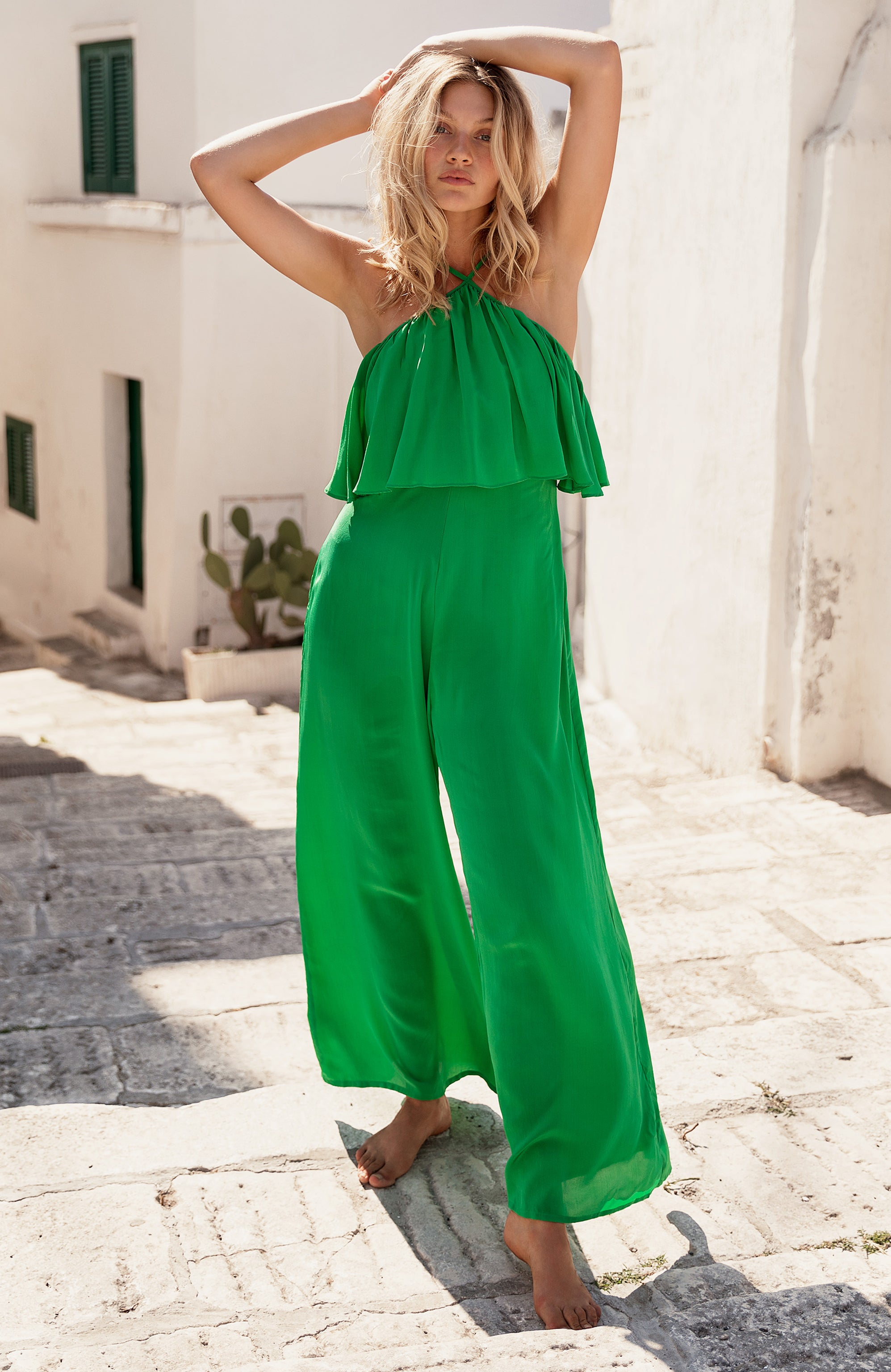 GREEN EDEN JUMPSUIT
