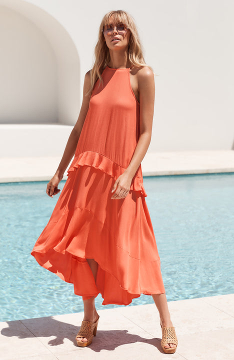 Molly Dress In Watermelon