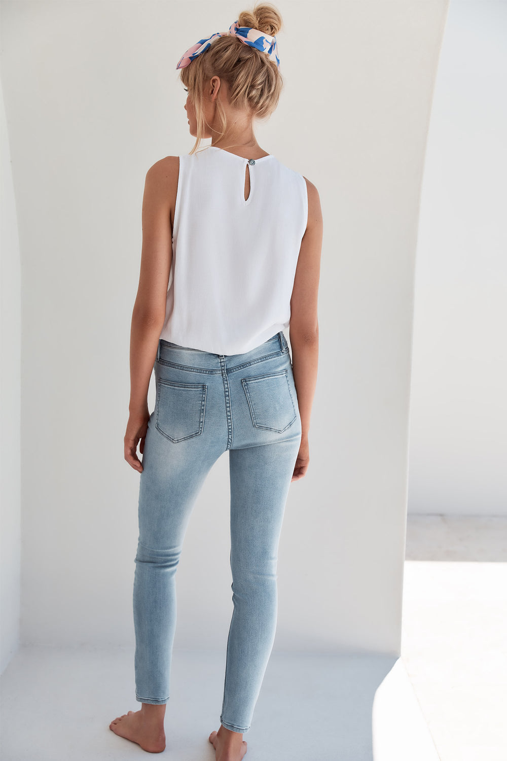 Georgia Jeans In Light Denim