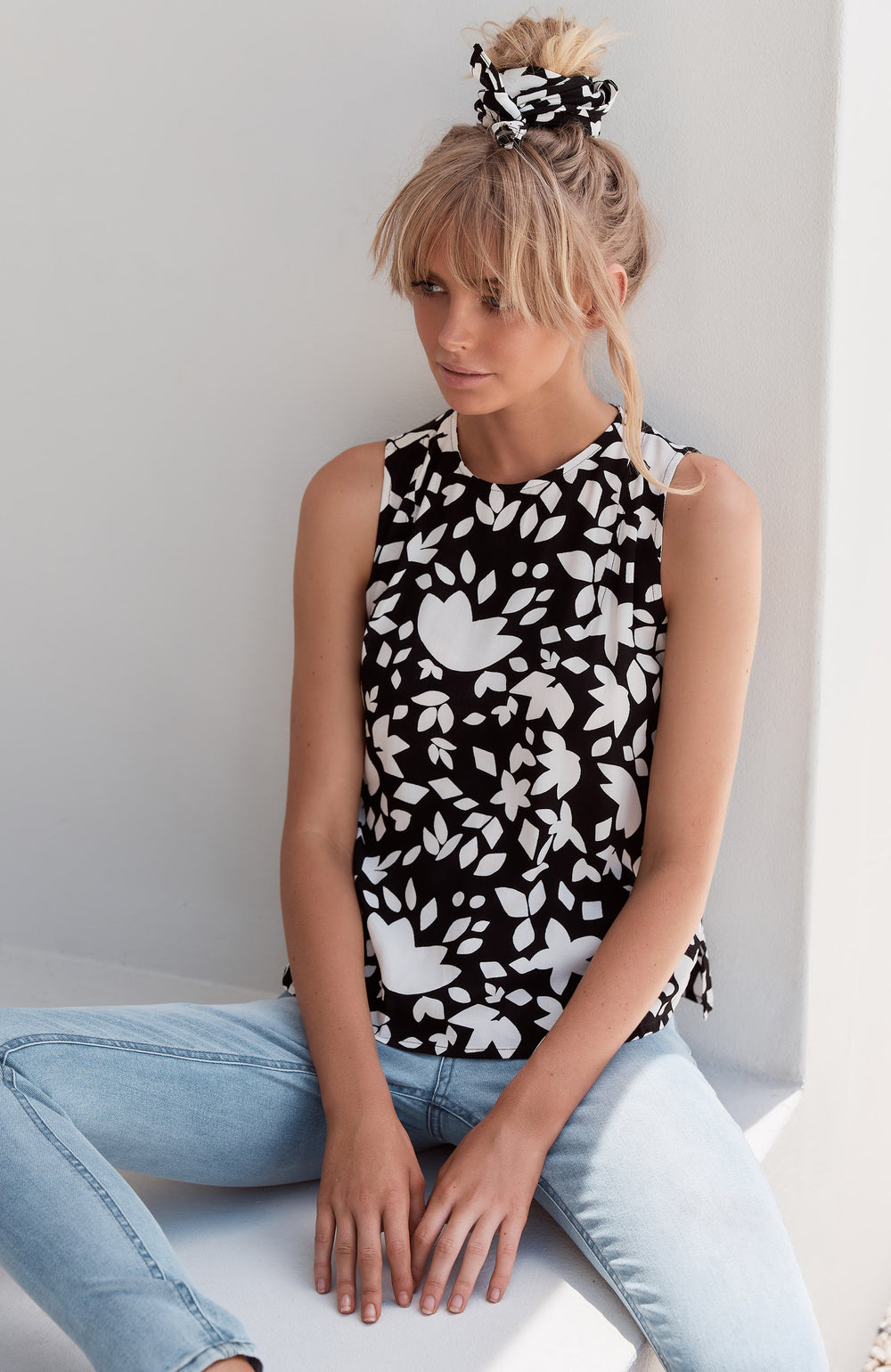 Lottie Top In Jardin
