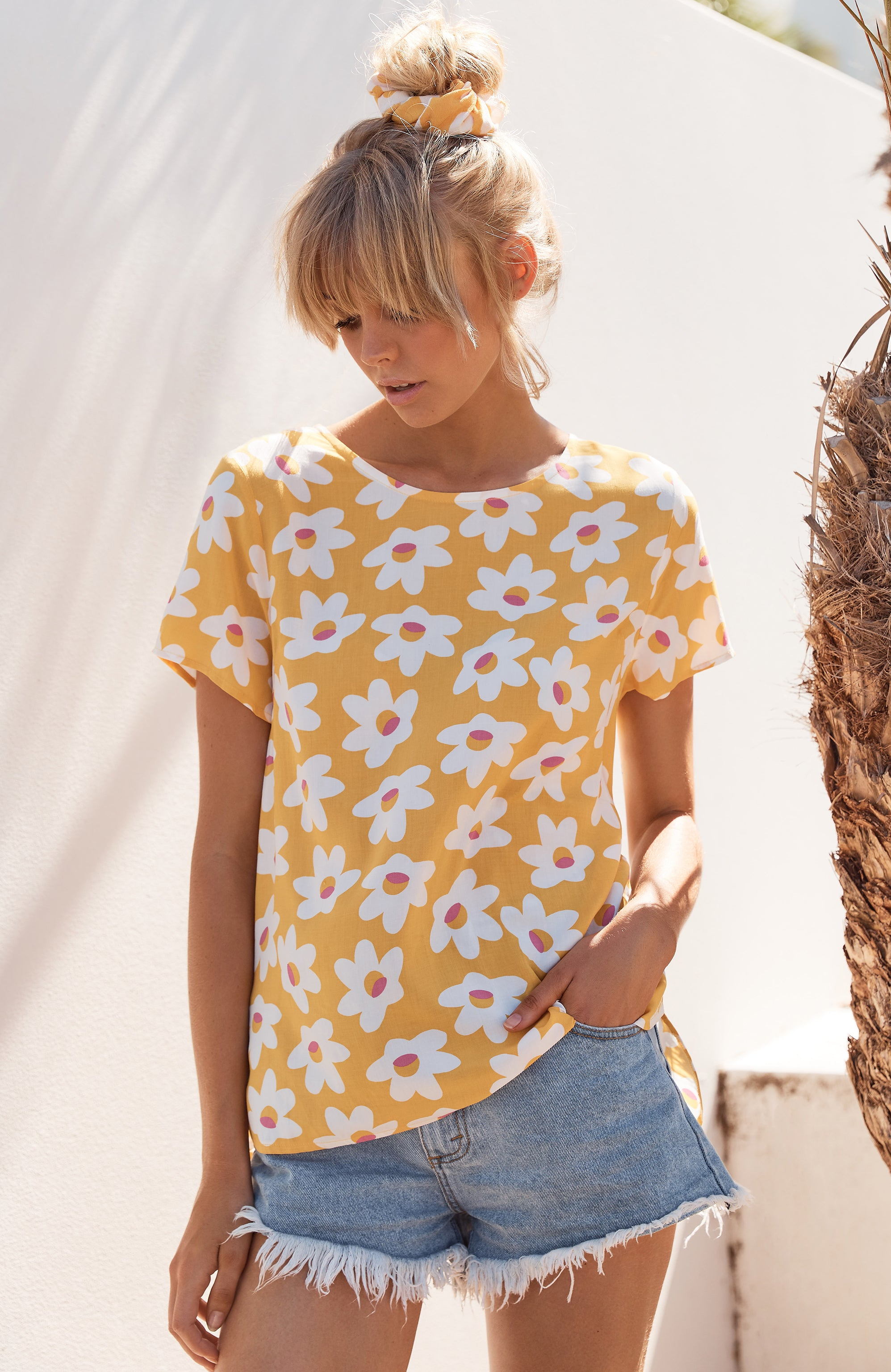 Melody Top In Daisy
