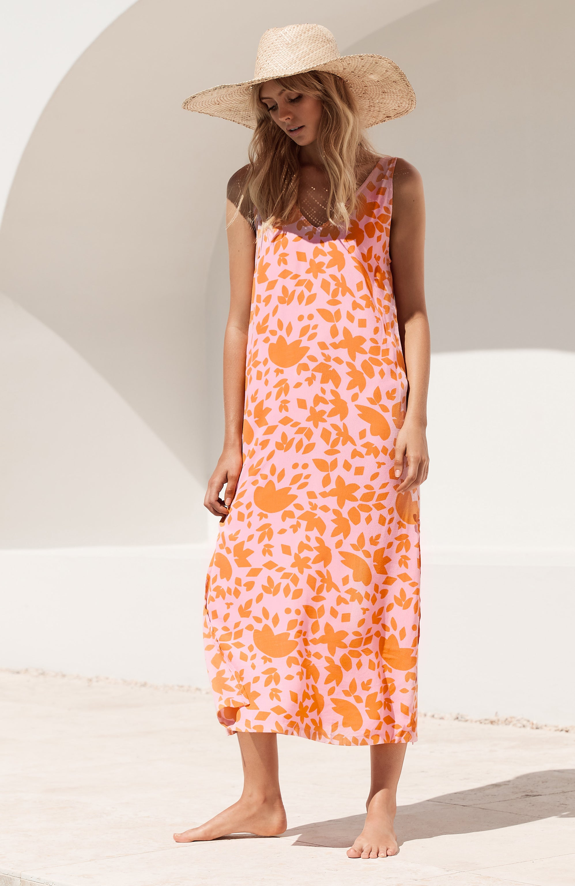 Sienna Dress In Antibes