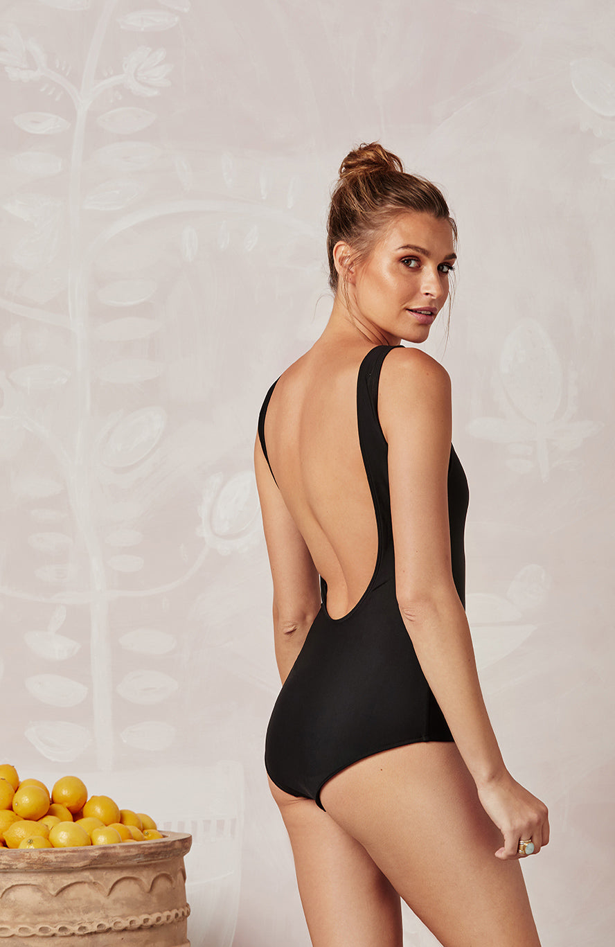 BLACK LOVER ONE PIECE - SWIM - Mister Zimi