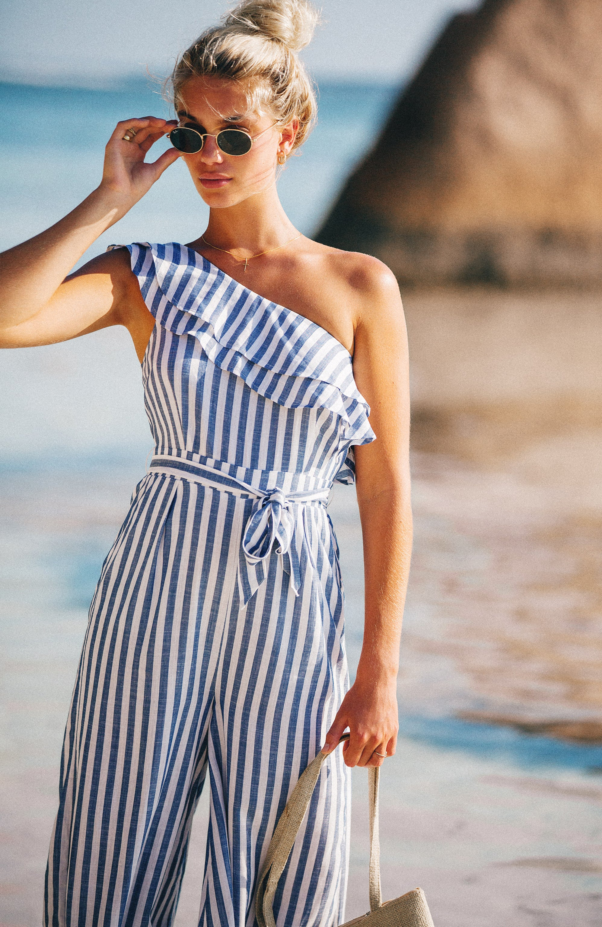 STRIPE GLORIA JUMPSUIT