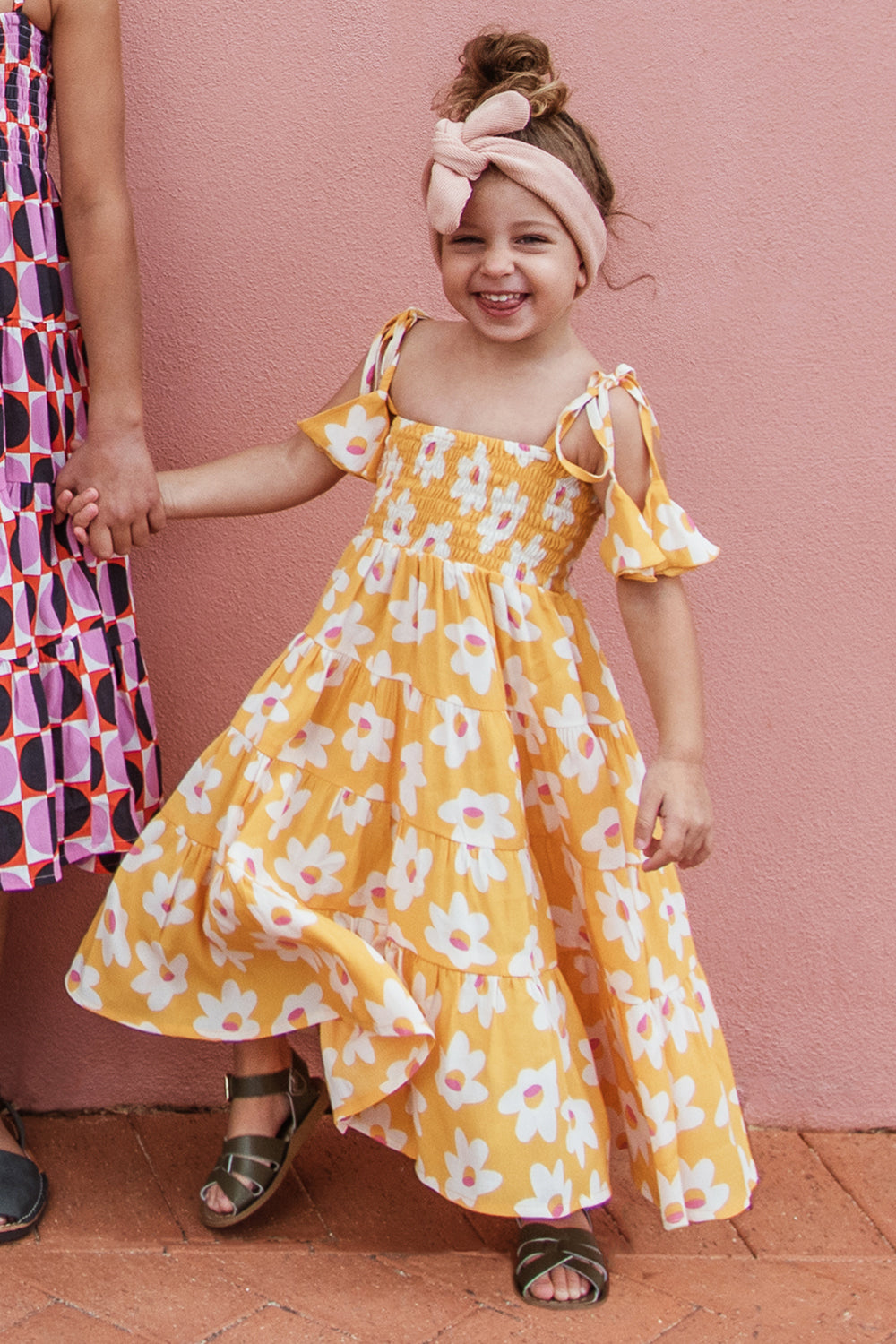 Mini Fifi Dress In Daisy