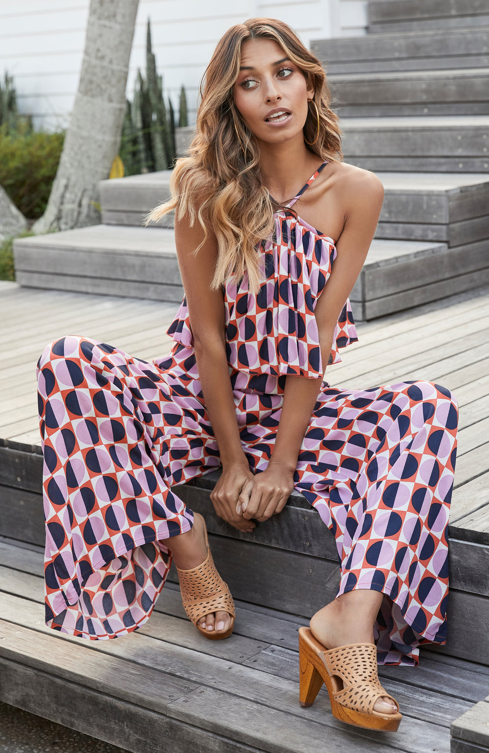Eden Jumpsuit In Riviera