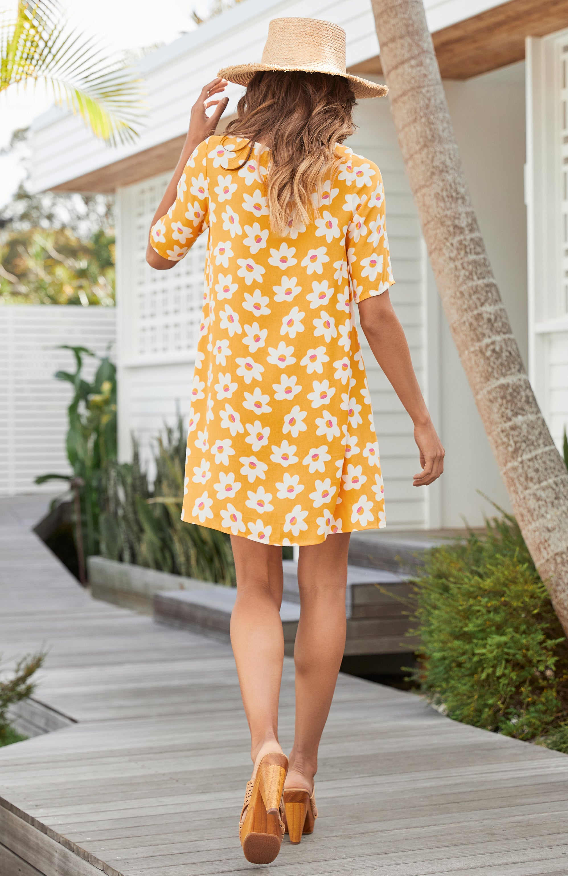 Tina Dress In Daisy