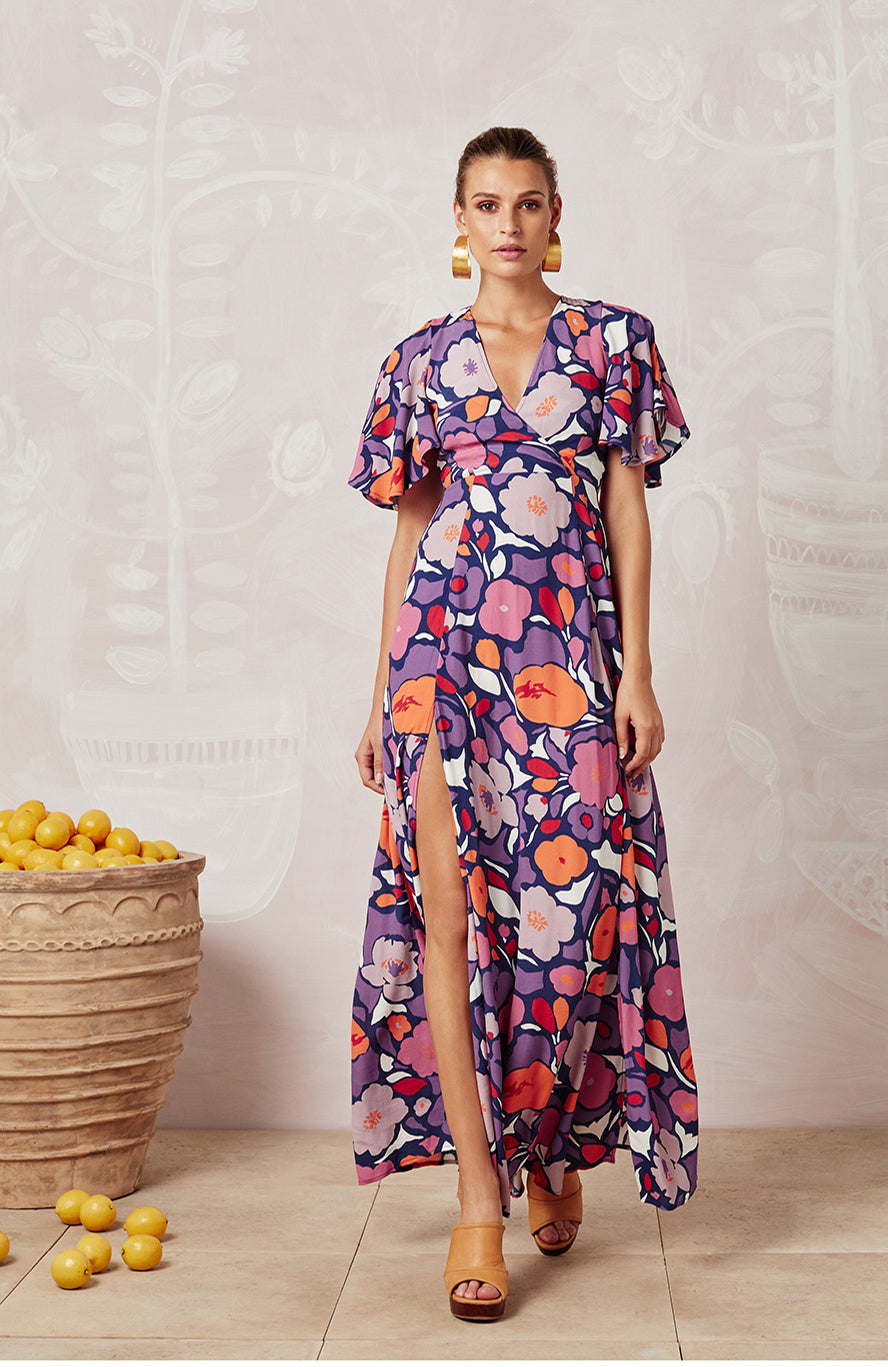 PASSIONFLOWER MAIA DRESS - DRESSES - Mister Zimi