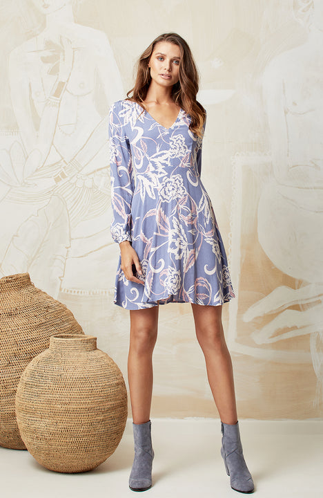 ORCHID PAIGE DRESS