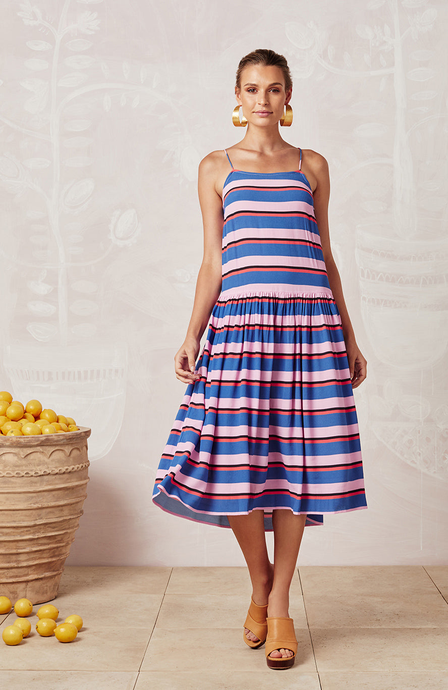 SAN SEBASTIAN POLLY DRESS - DRESSES - Mister Zimi