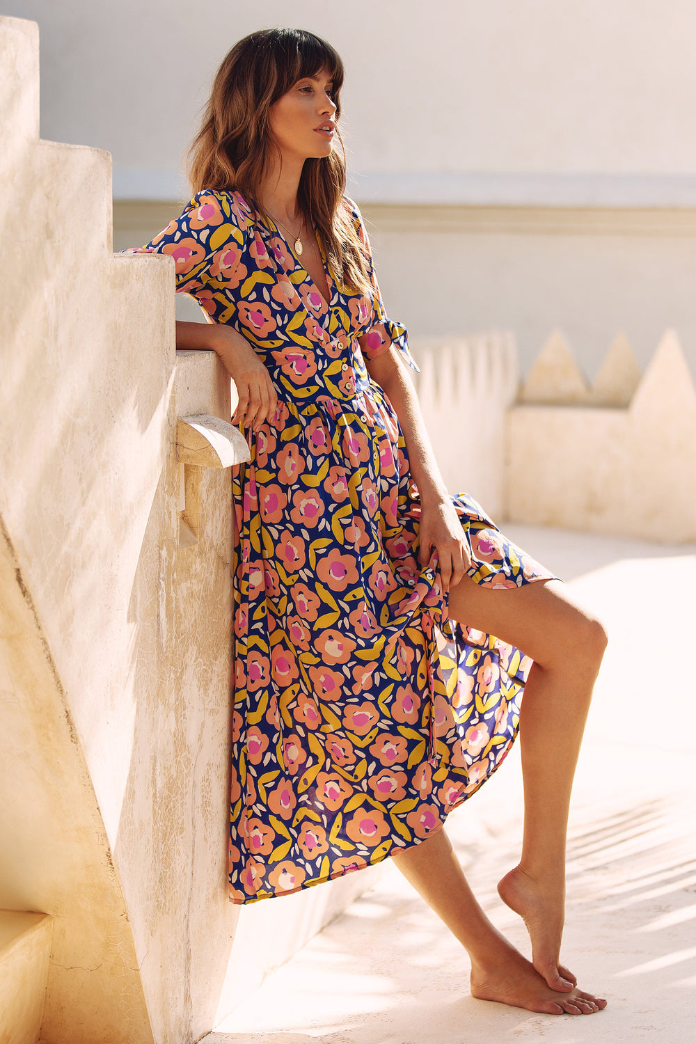 Saskia Dress In Bloom