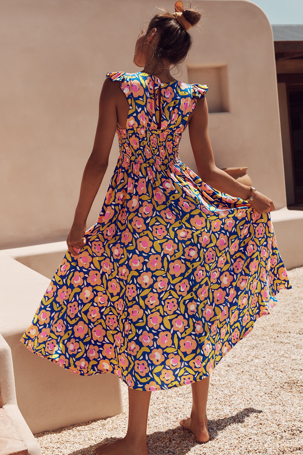 Abbie Dress In Bloom