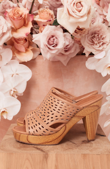 Majorca Heel In Tan