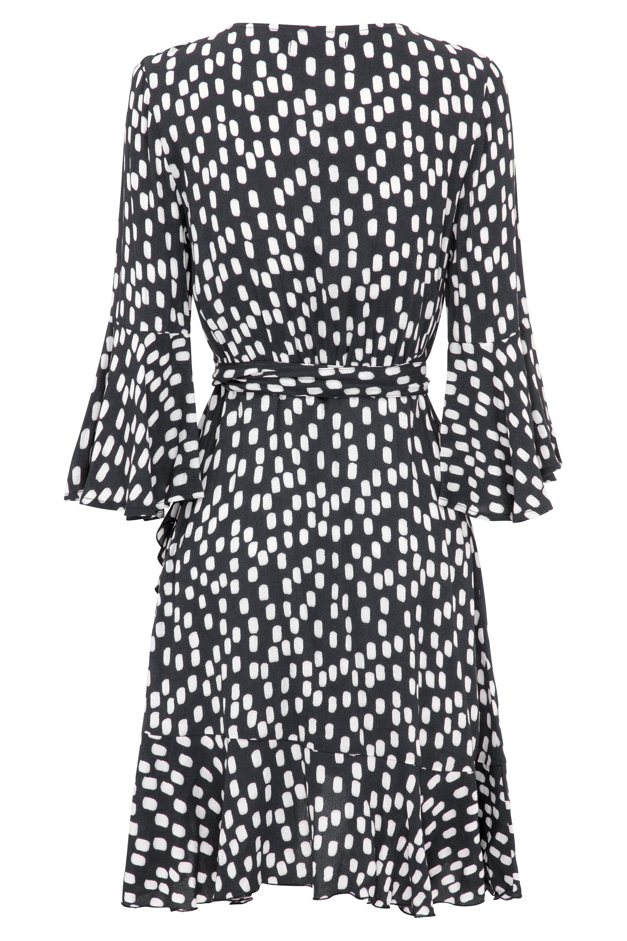 Colette Dress In Charcoal