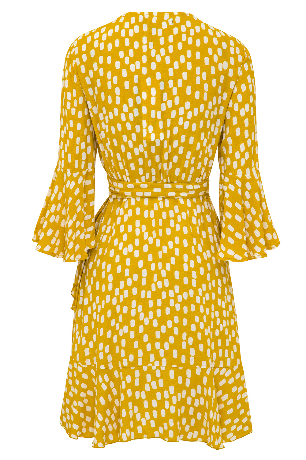 Colette Dress In Chartreuse