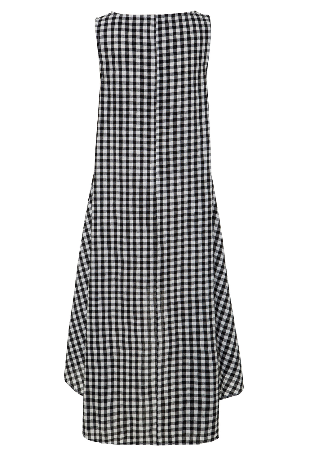 Mia Dress In Black Gingham