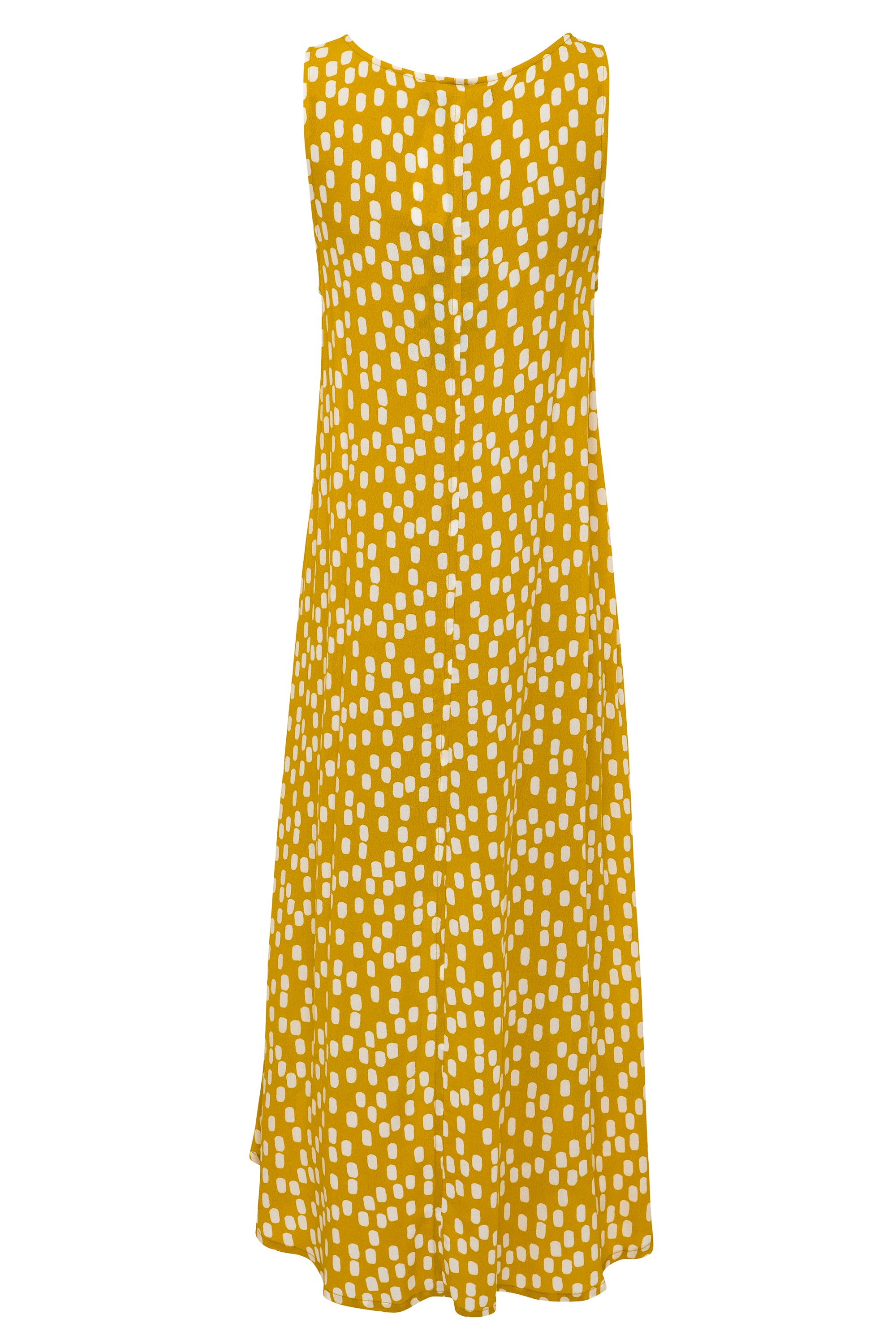 Mia Dress In Chartreuse