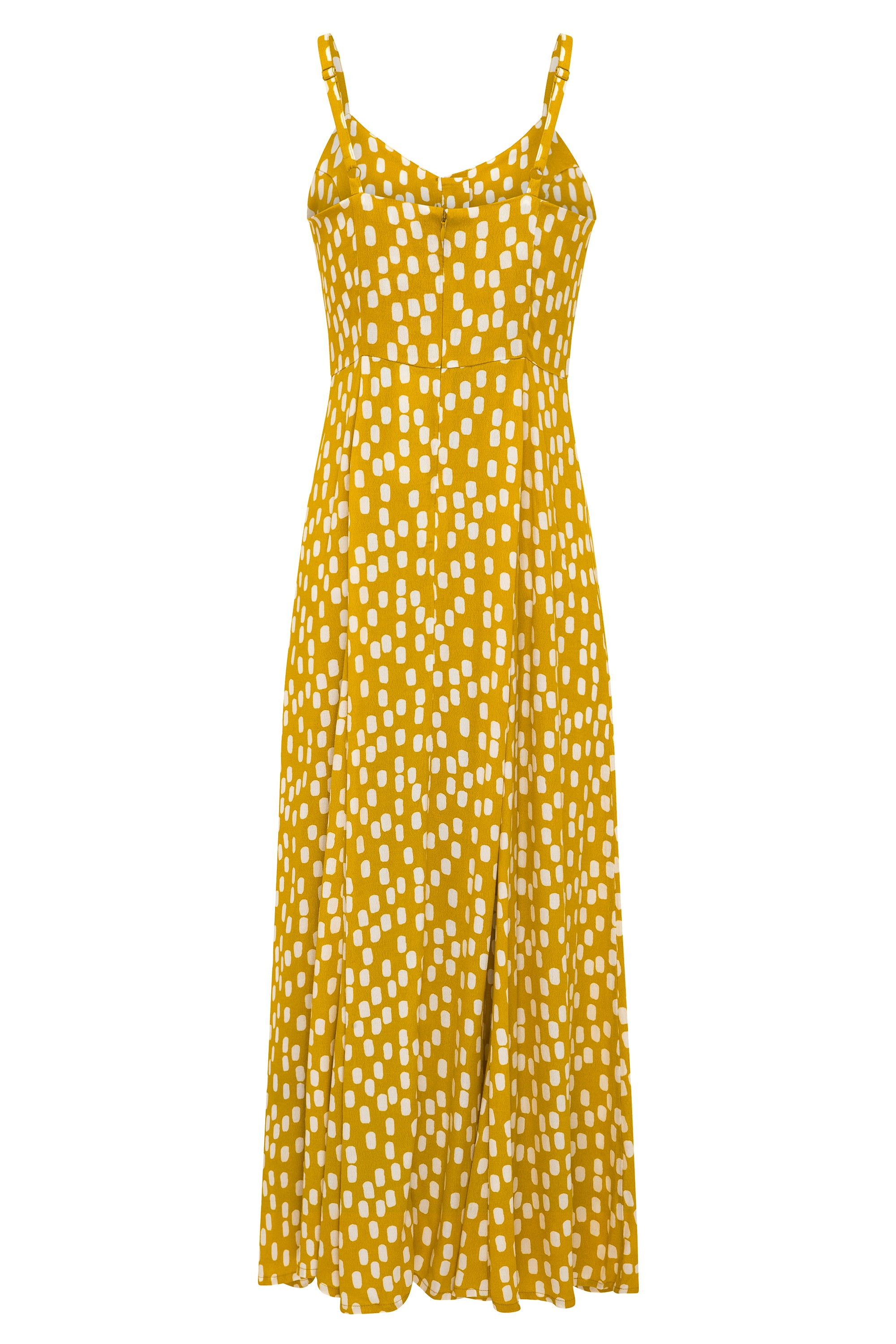 Pia Dress In Chartreuse