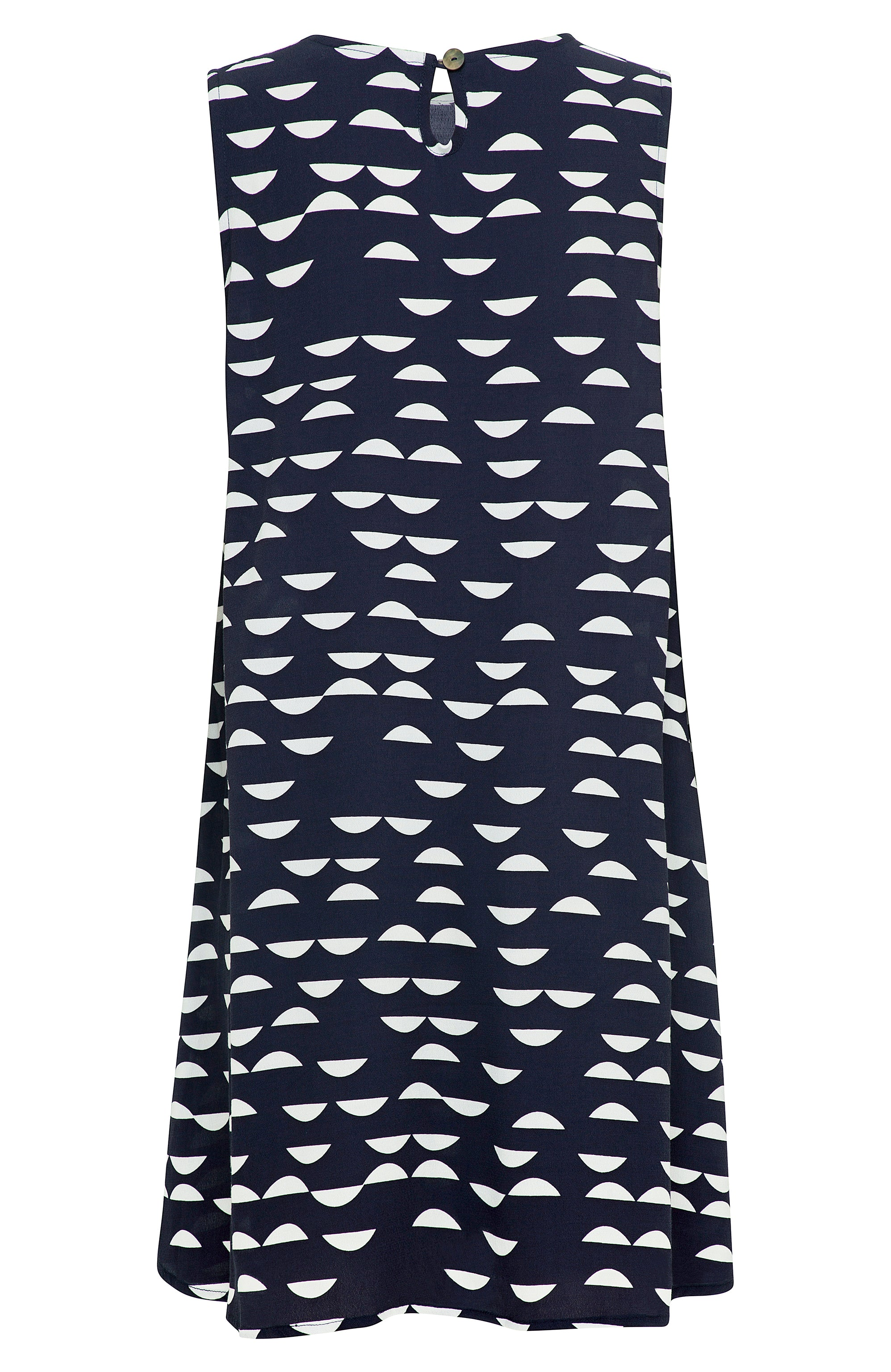 Sleeveless Tina Dress In Palm Beach