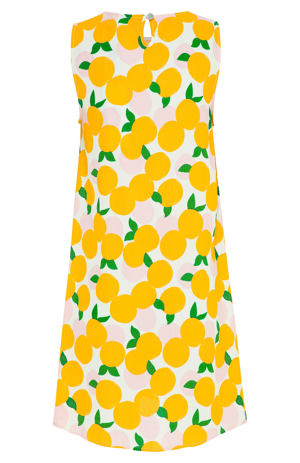 Sleeveless Tina Dress In Mandarin