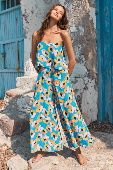 Florence Jumpsuit In Pina Colada