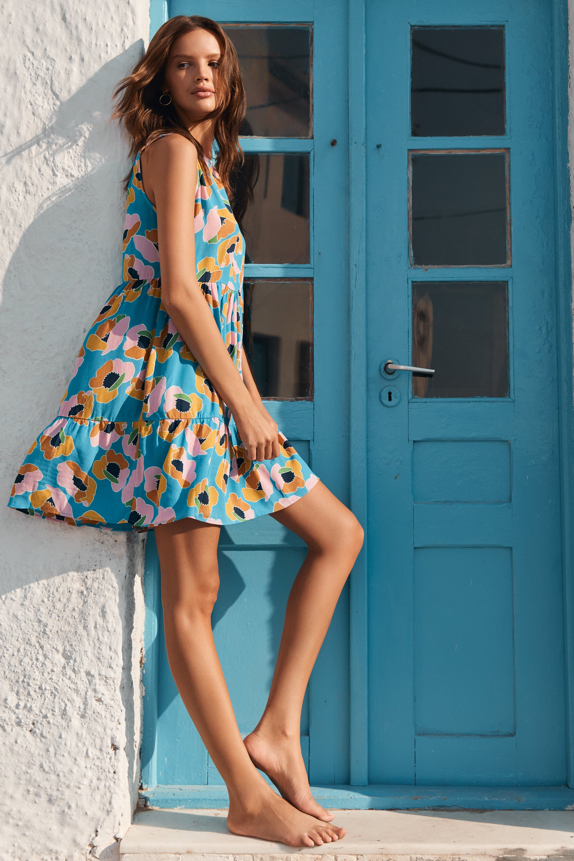 Olivia Dress In Pina Colada