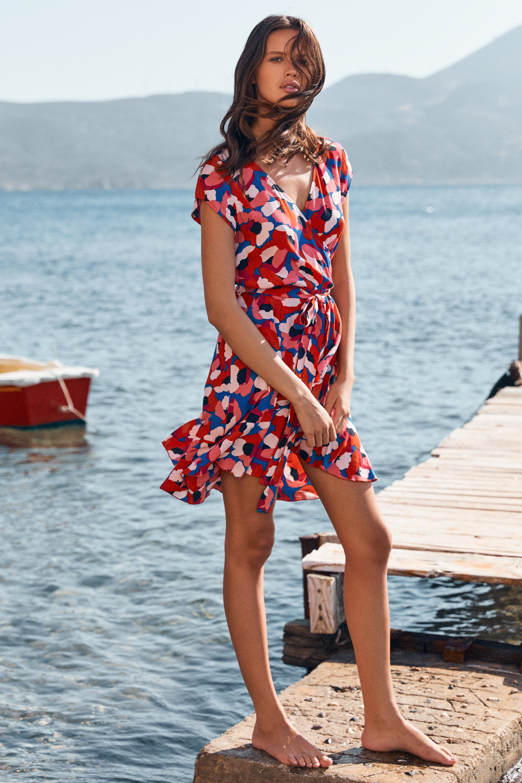 Summer Colette Dress In Mimosa