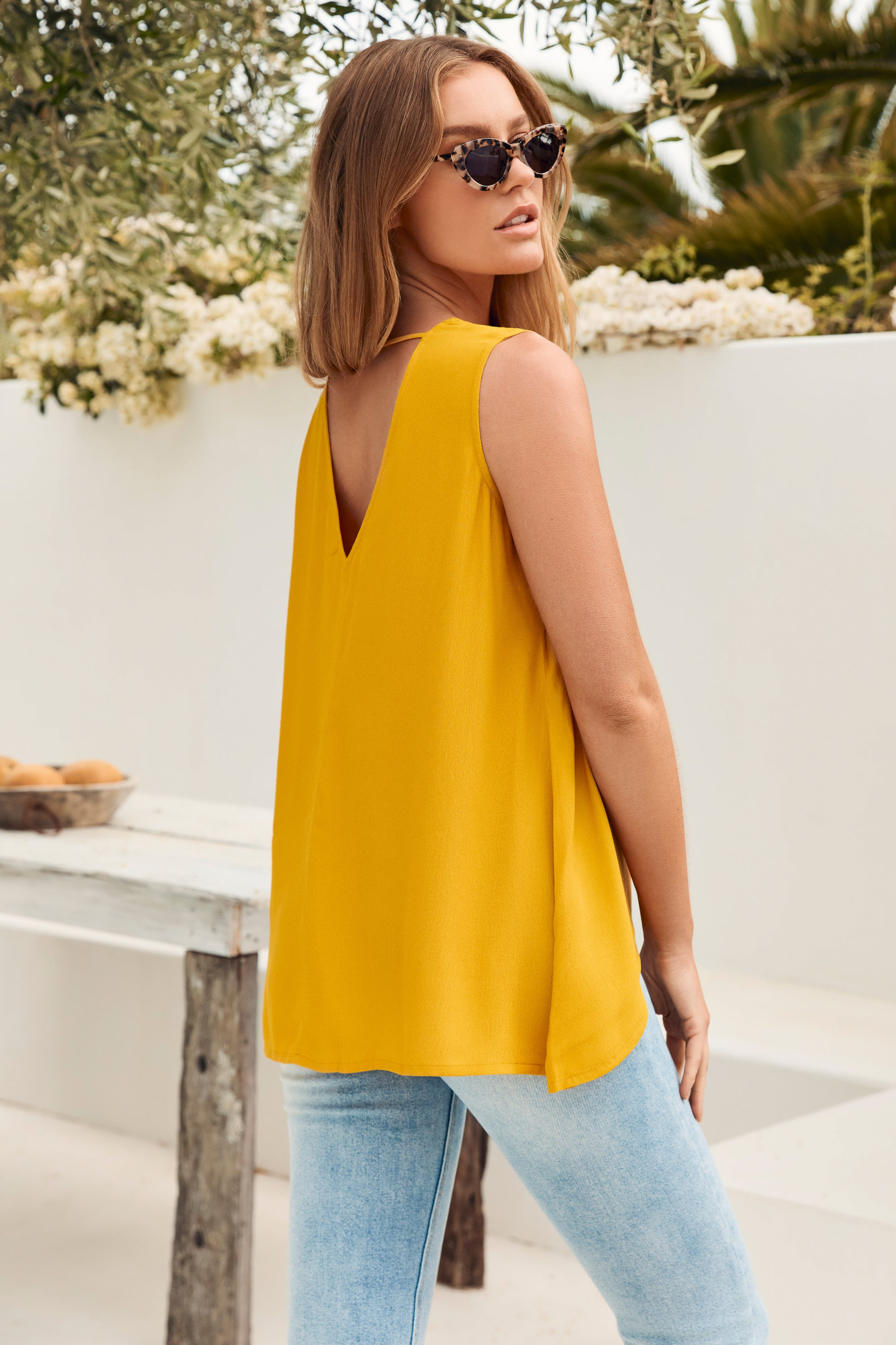 Milly Top In Mustard