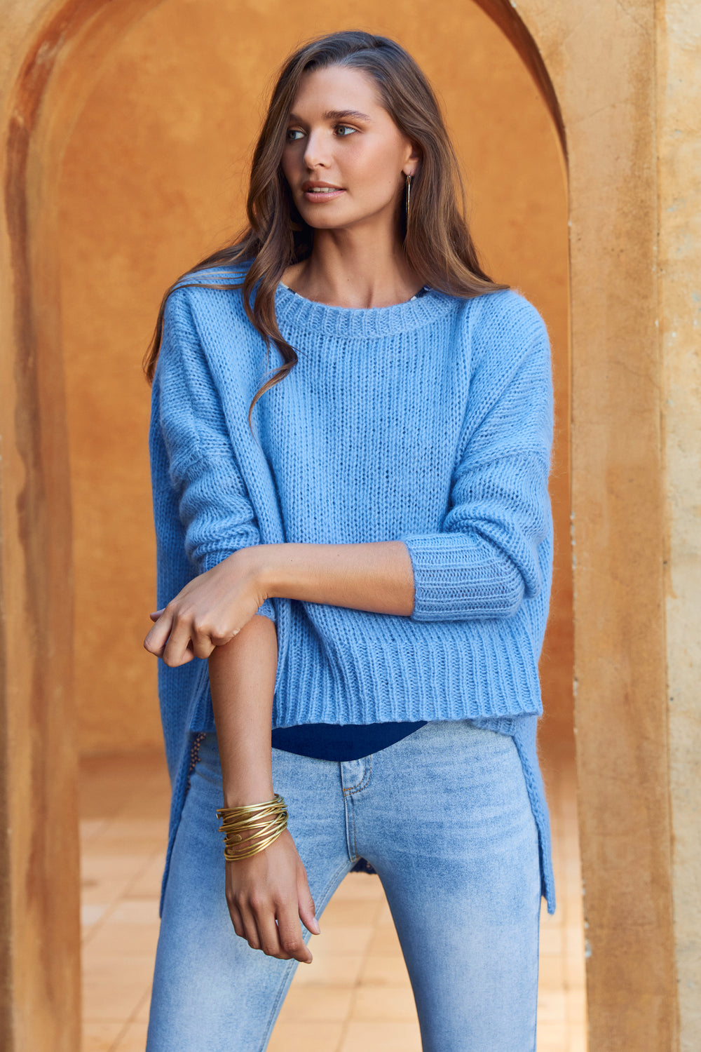 Binny Jumper In Blue
