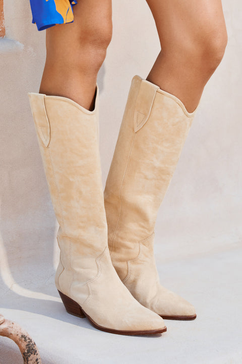 Darby Boots In Taupe