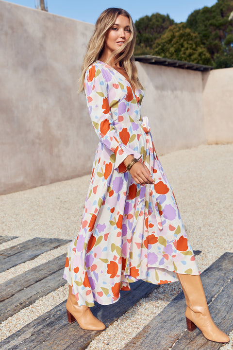 Tamara Dress In Peony