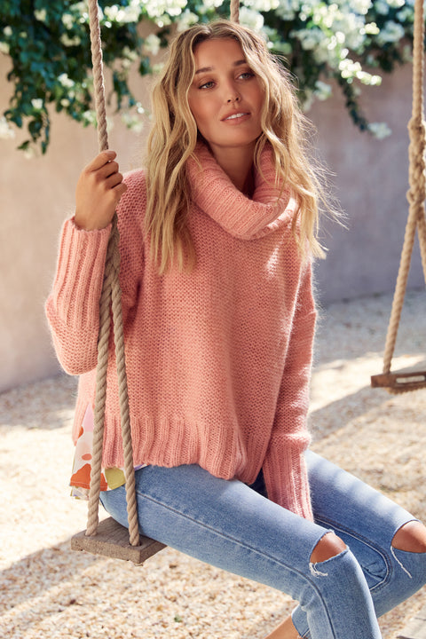 Wilde Jumper In Pink
