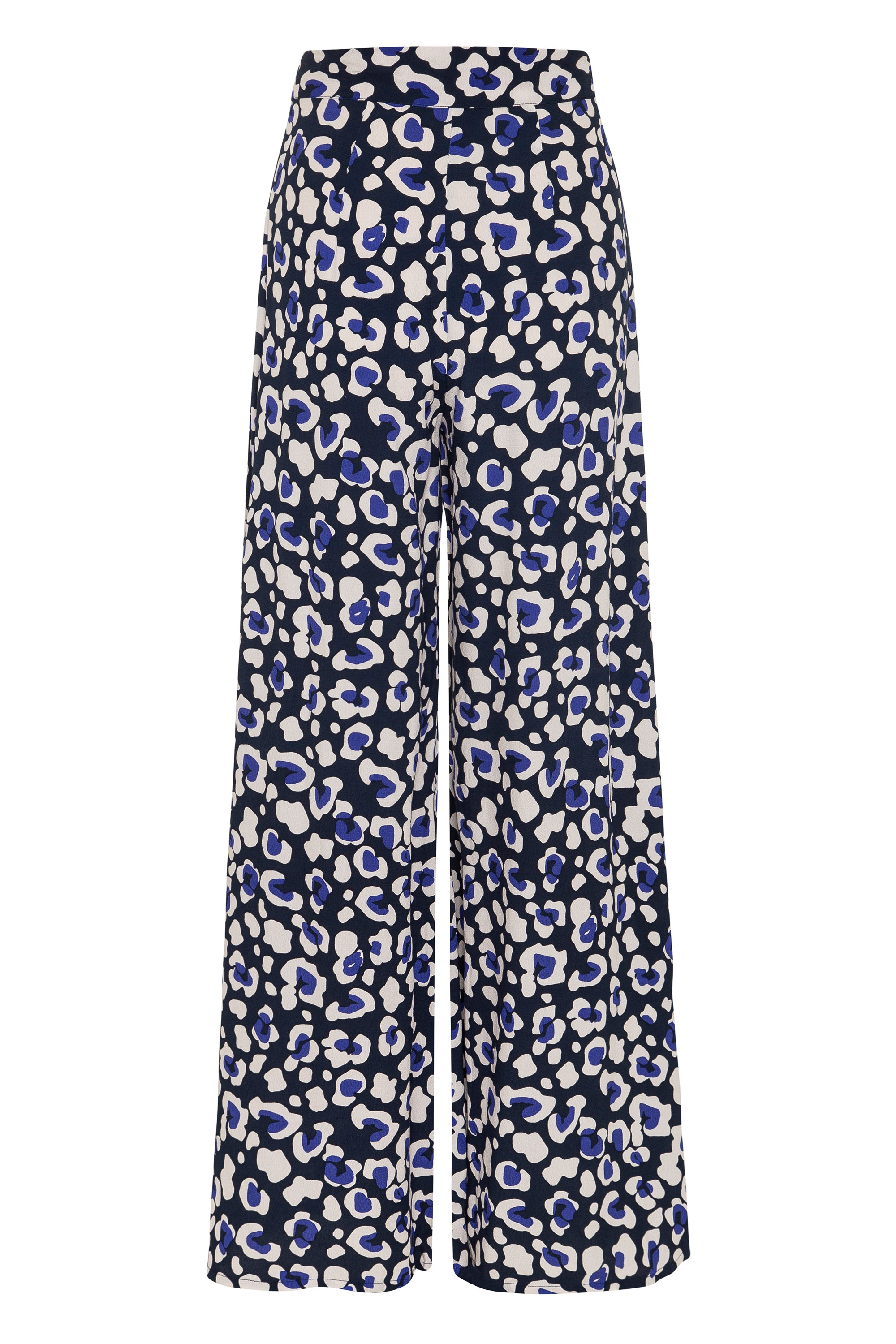 Charlie Pants In Navy Leopard