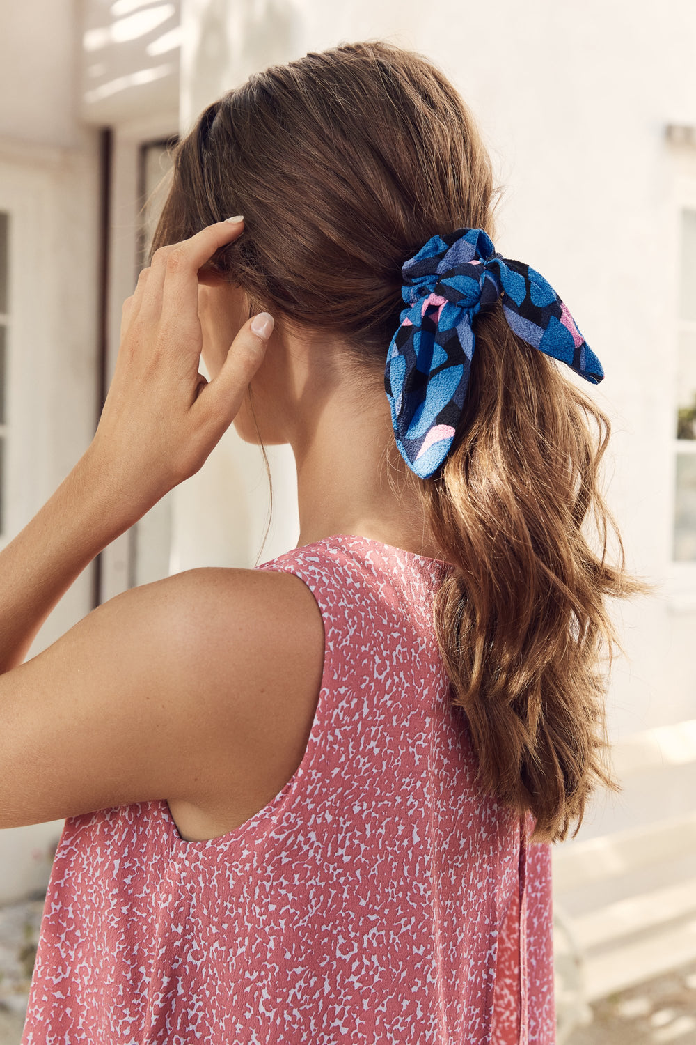 Scrunchie In Freesia