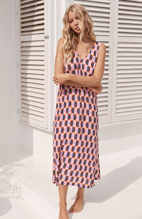 Sienna Dress In Riviera