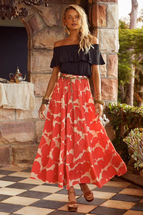 Alice Skirt In Dahlia