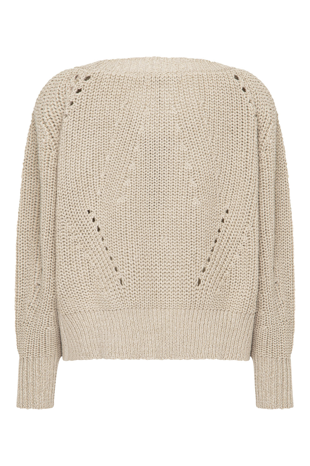 Bambi Jumper In Gold Lurex