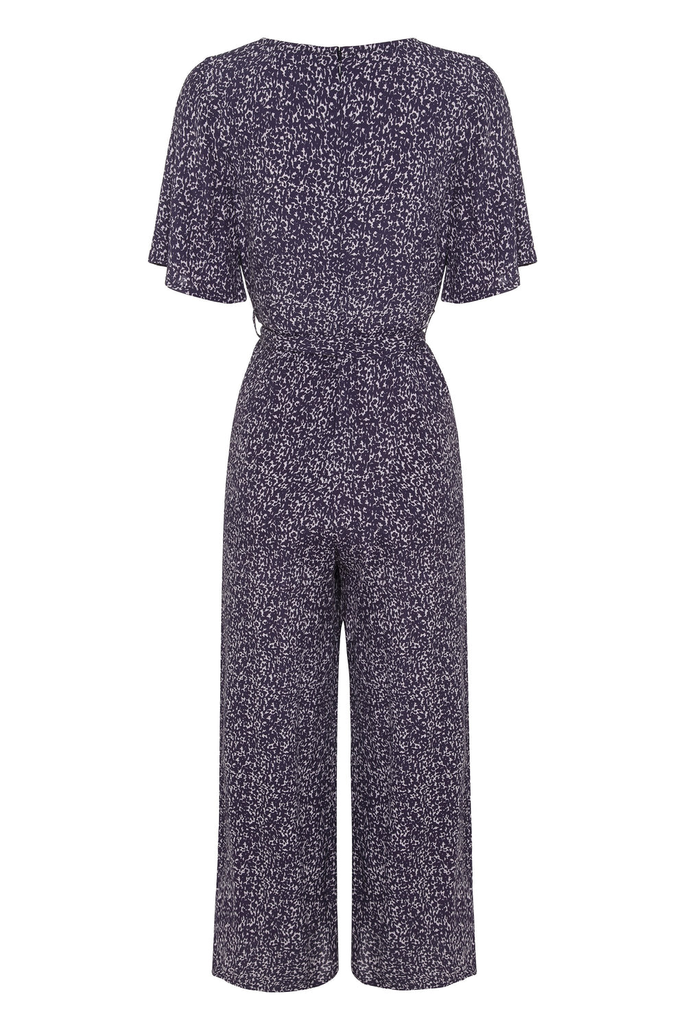 Effie Jumpsuit In Snow Leopard
