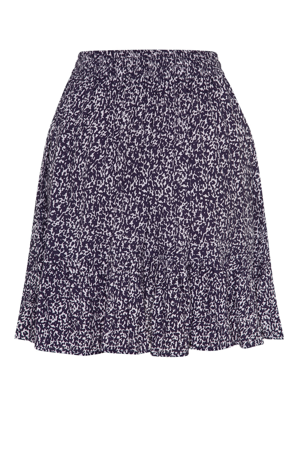 Velvie Skirt In Snow Leopard