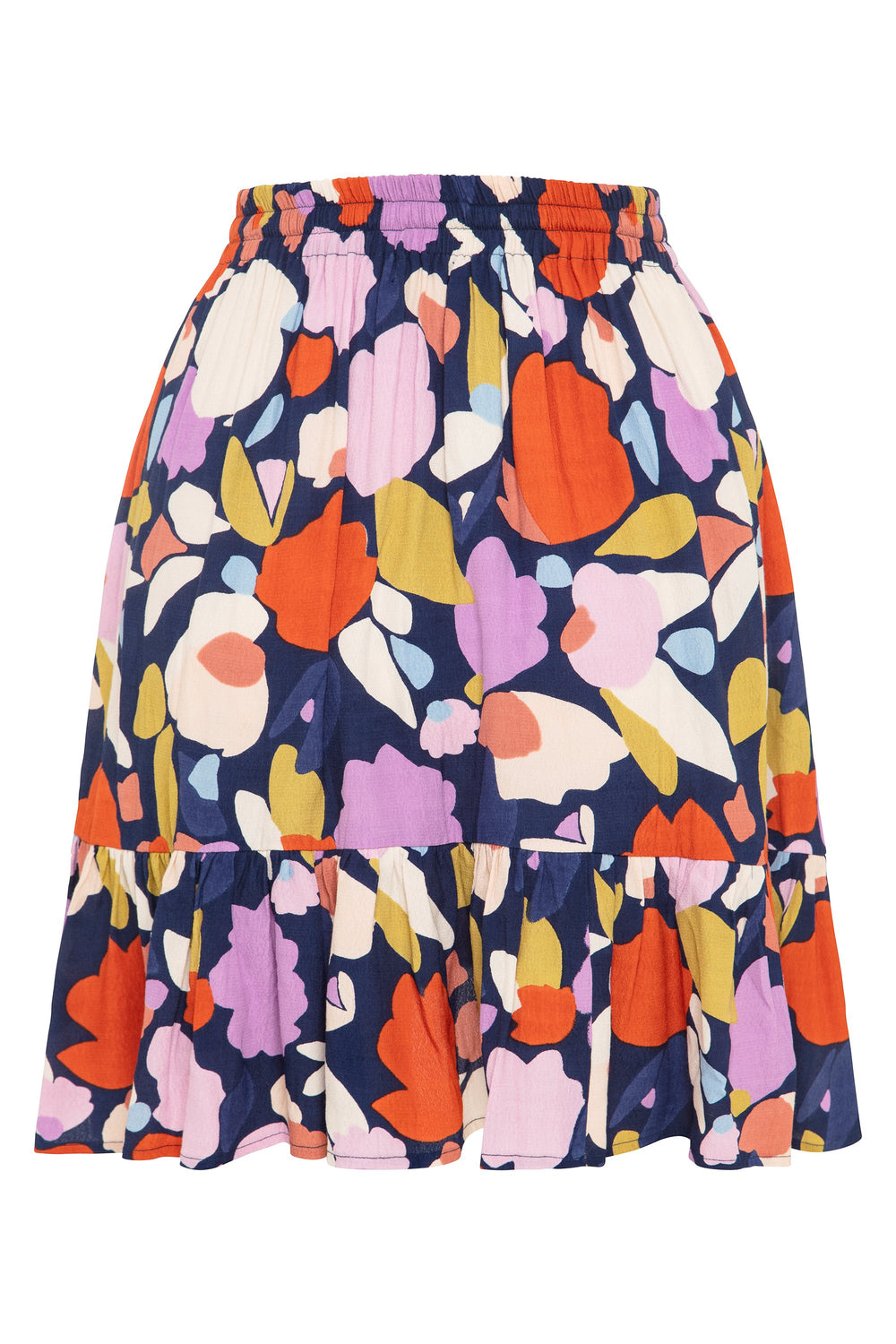 Velvie Skirt In Tulip