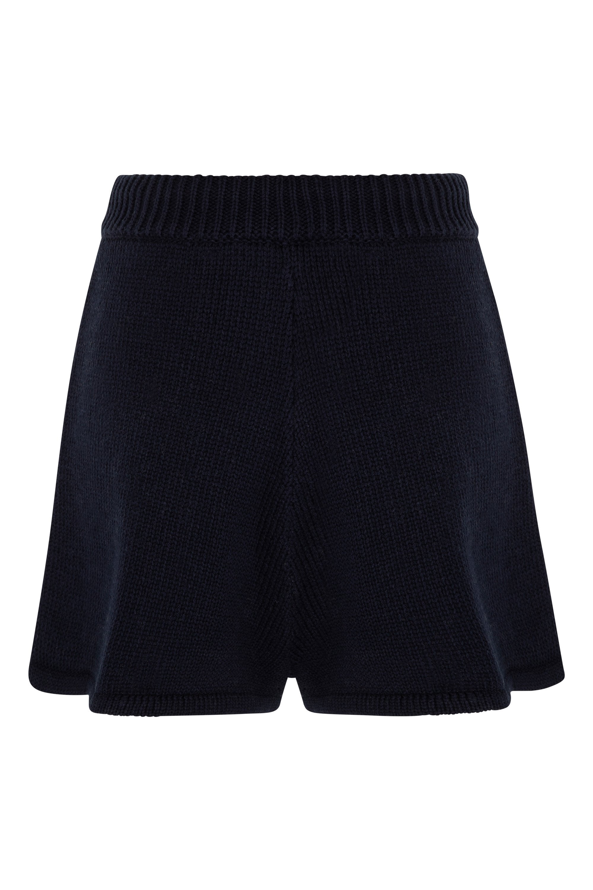 May Knit Shorts In Navy