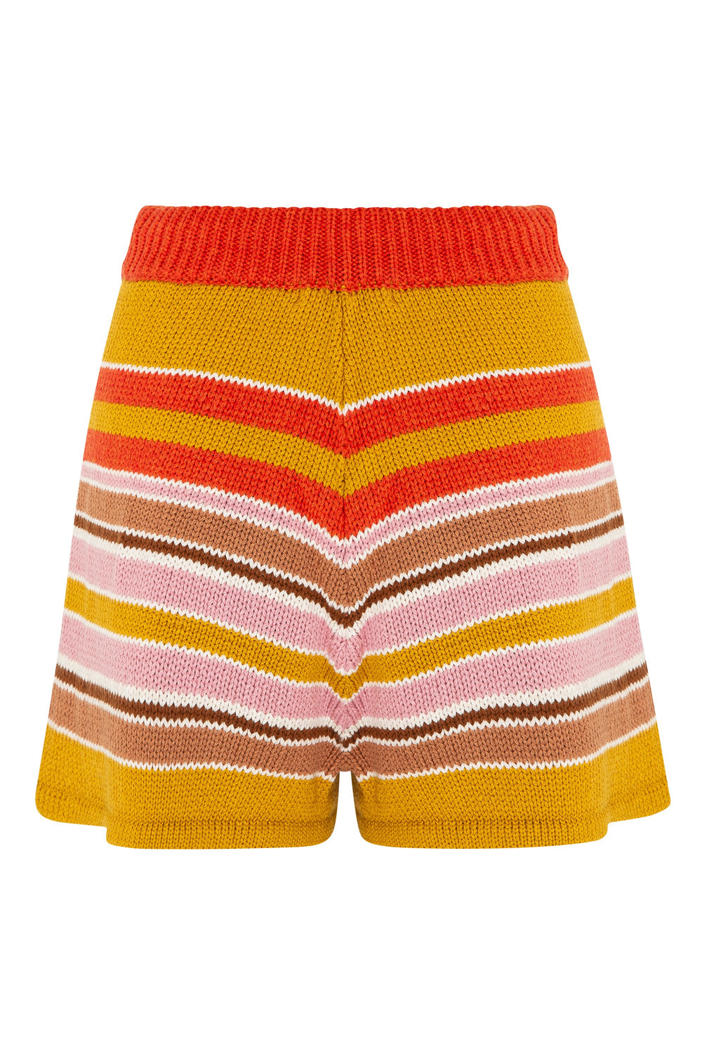 May Knit Shorts In Stripe