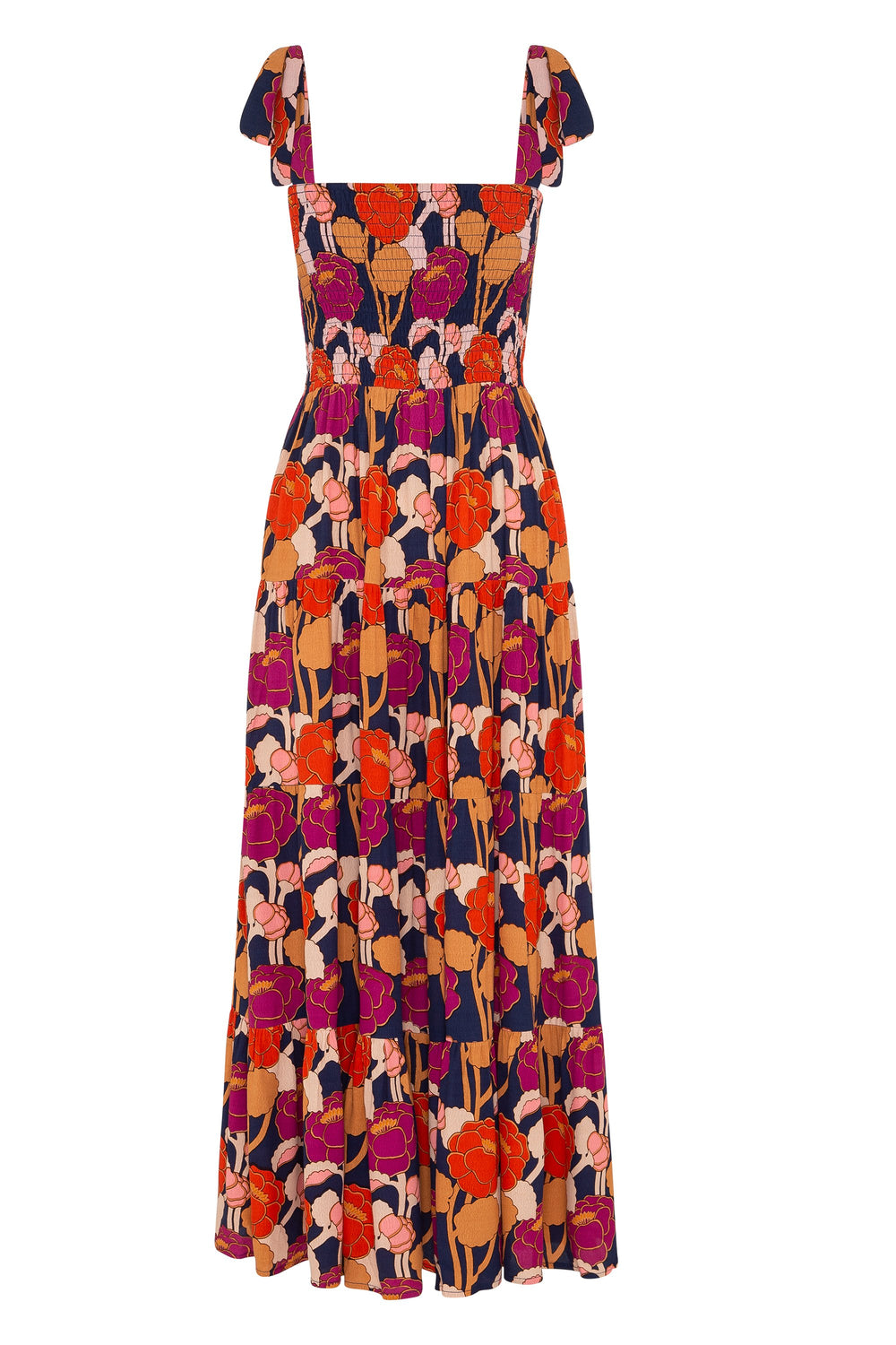 Savannah Tie Dress In Oasis