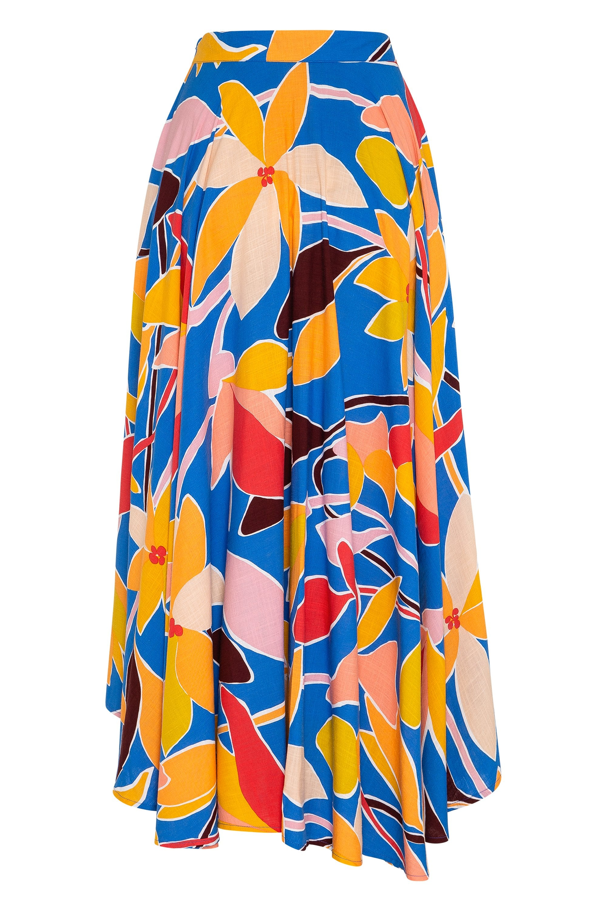 Betty Skirt In Tropical Blue