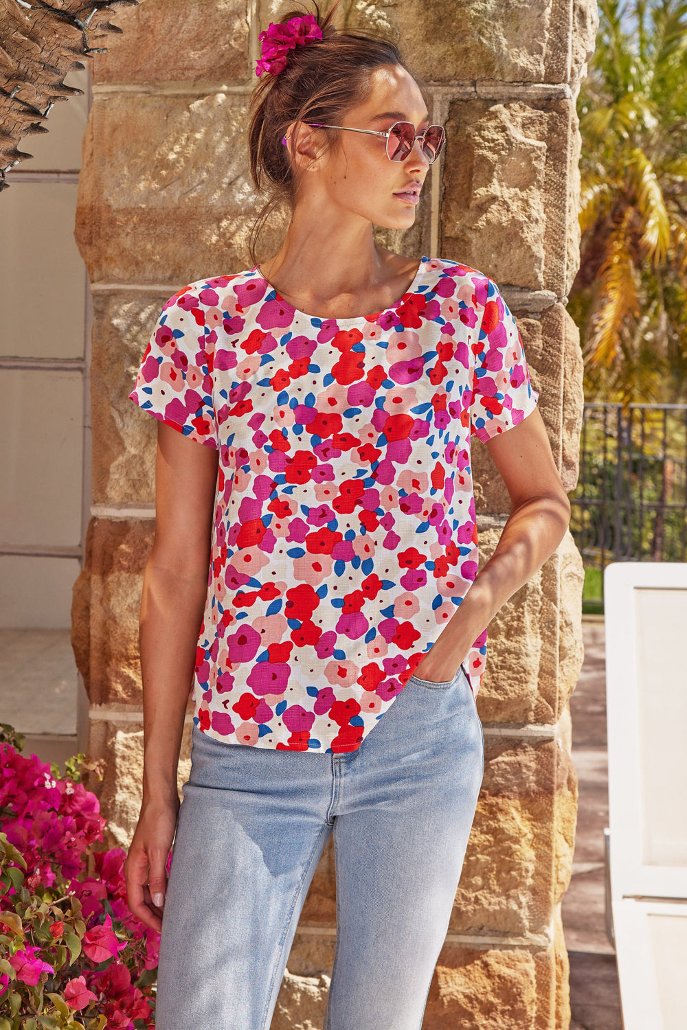 Melody Top In Pansy